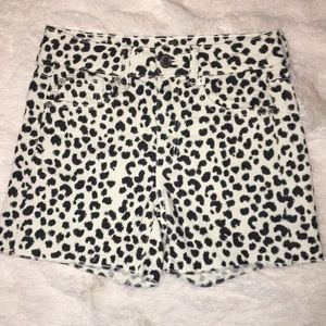 ❤️2 for $20❤️American Eagle cheetah print shorts